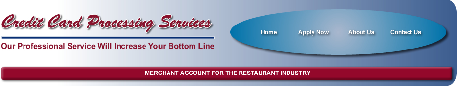 Merchant Account for the Restaurant Industry